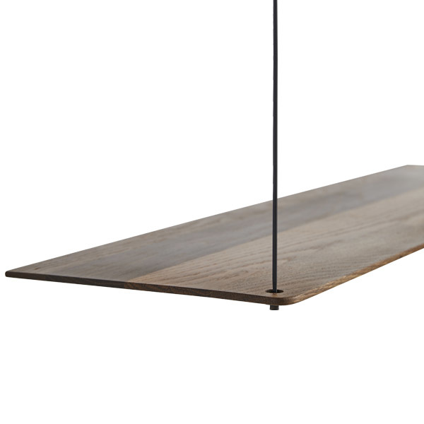 Woud Stedge 2.0 add-on shelf 80 cm, smoked oak
