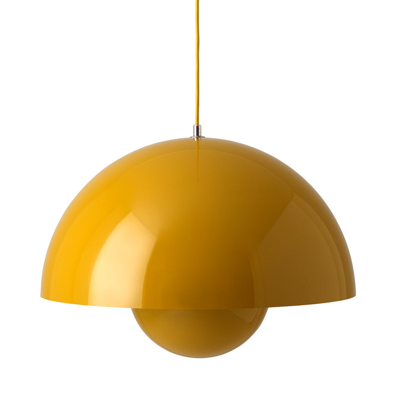 &Tradition Flowerpot VP2 pendant, mustard