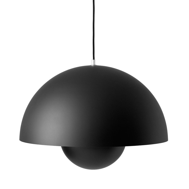 &Tradition FlowerPot VP2 pendant, matt black