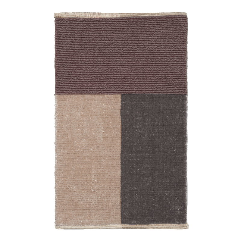 Ferm Living Pile bathroom mat, brown