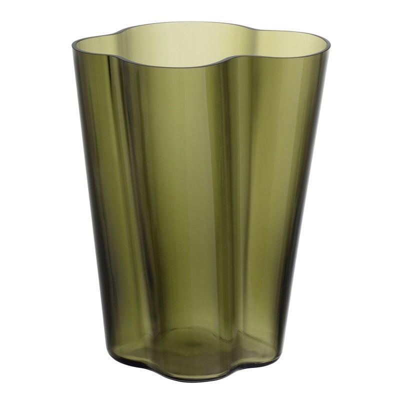 Iittala Aalto vase 270 mm, moss green