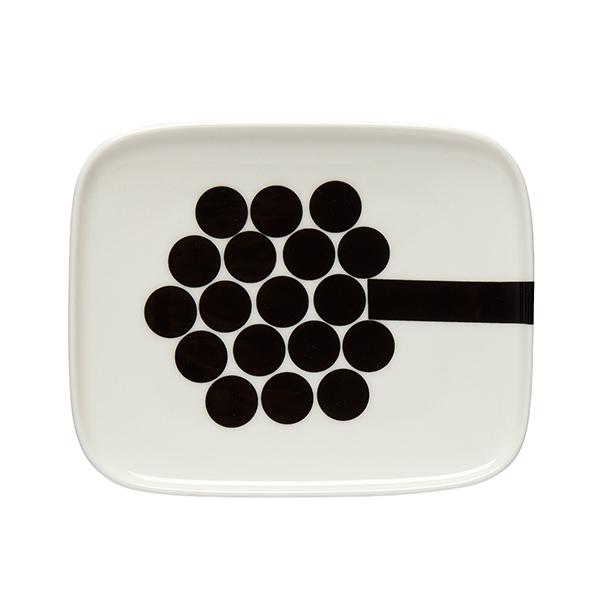 Marimekko Oiva - Hortensie plate 15x12 cm