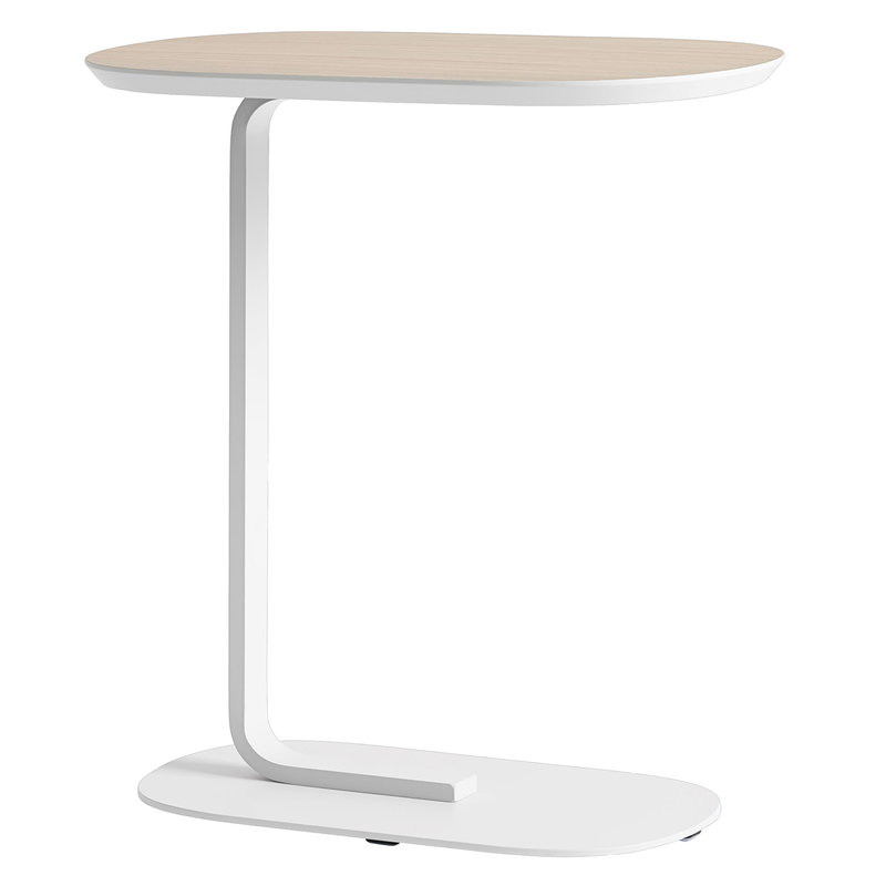 Muuto Relate side table, oak - off-white