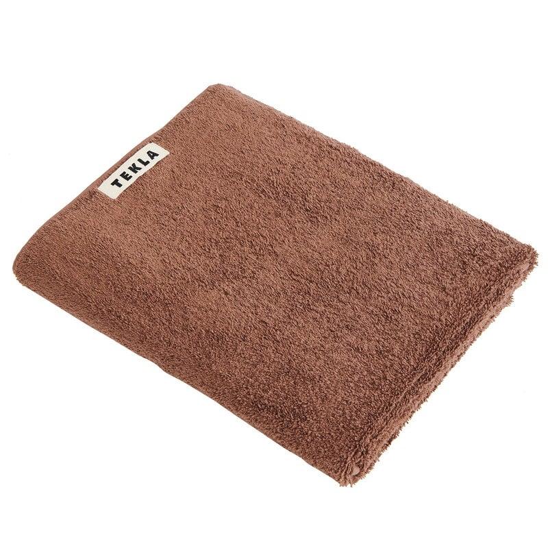 Tekla Bath towel, 70 x 140 cm, kodiak brown