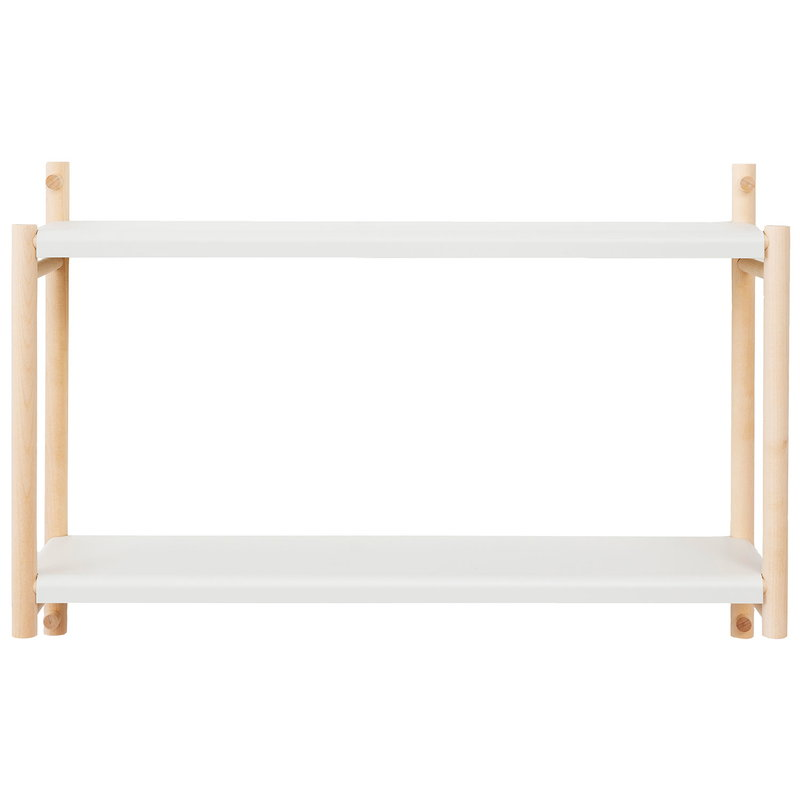 Verso Design Kamu wall shelf, eggshell white
