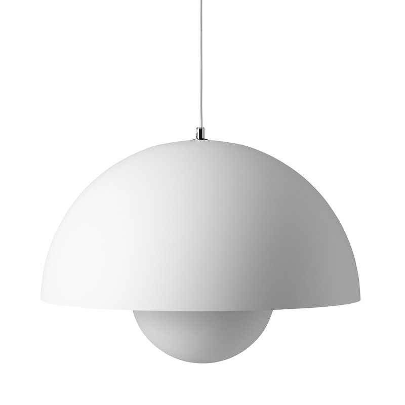 &Tradition Flowerpot VP2 pendant, matt white
