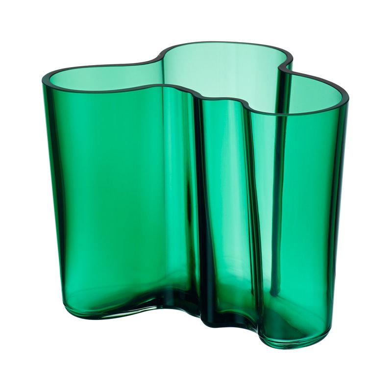 Iittala Aalto maljakko 120 mm, smaragdi