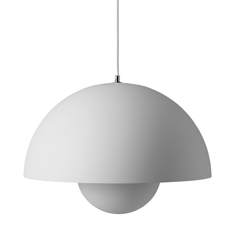 &Tradition Flowerpot VP2 pendant, matt light grey