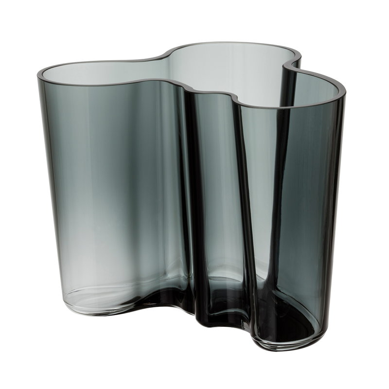Iittala Vaso Aalto 120 mm, grigio scuro
