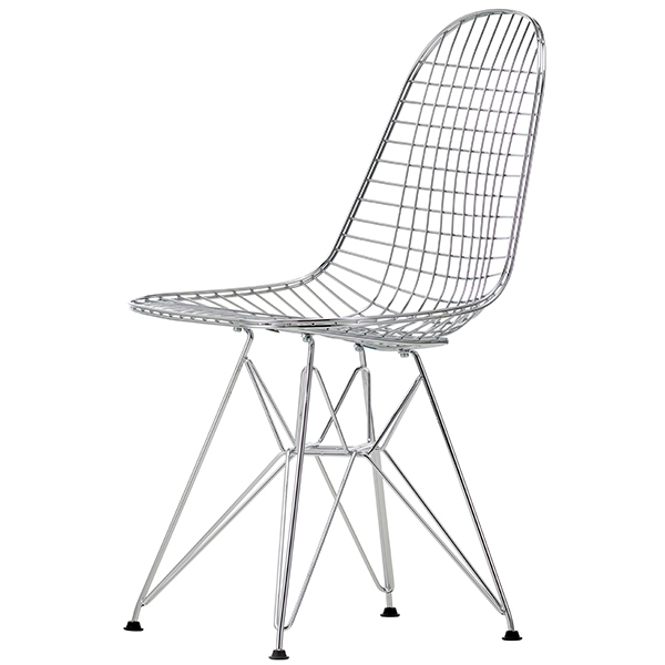 Vitra Wire Chair DKR, kromi
