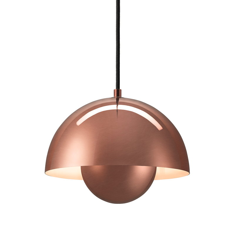 &Tradition Flowerpot VP1 pendant, polished copper
