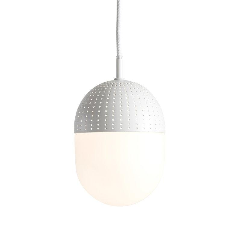 Woud Dot pendant, M, white