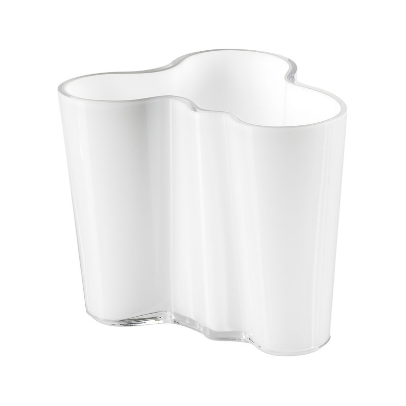 Iittala Vaso Aalto 95 mm, bianco