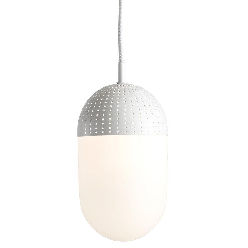 Woud Dot pendant, L, white