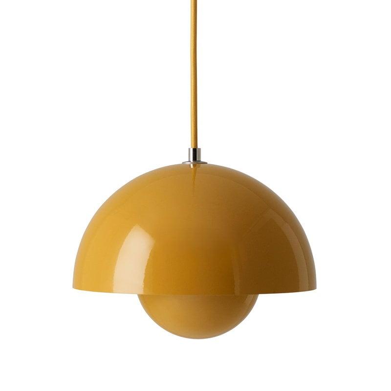 &Tradition Lampada Flowerpot VP1, giallo senape