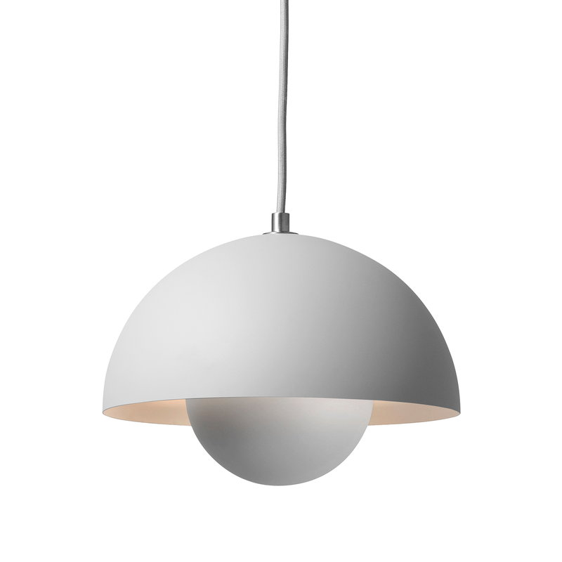 &Tradition Flowerpot VP1 pendant, matt light grey