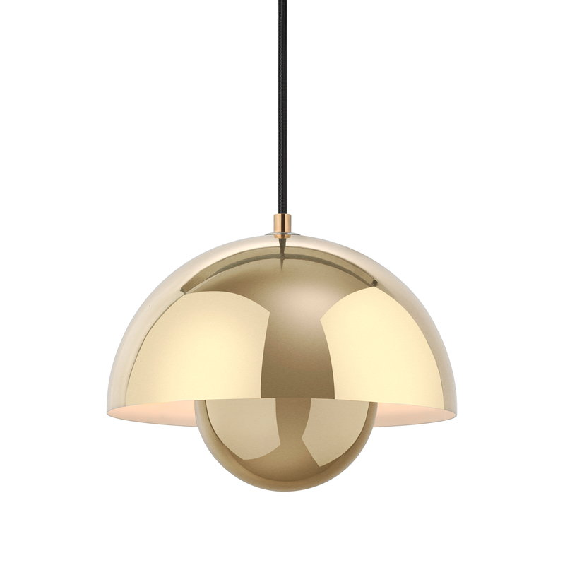 &Tradition Flowerpot VP1 pendant, polished brass