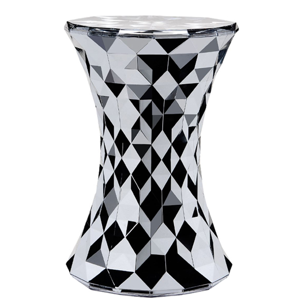 Kartell Stone stool, chrome