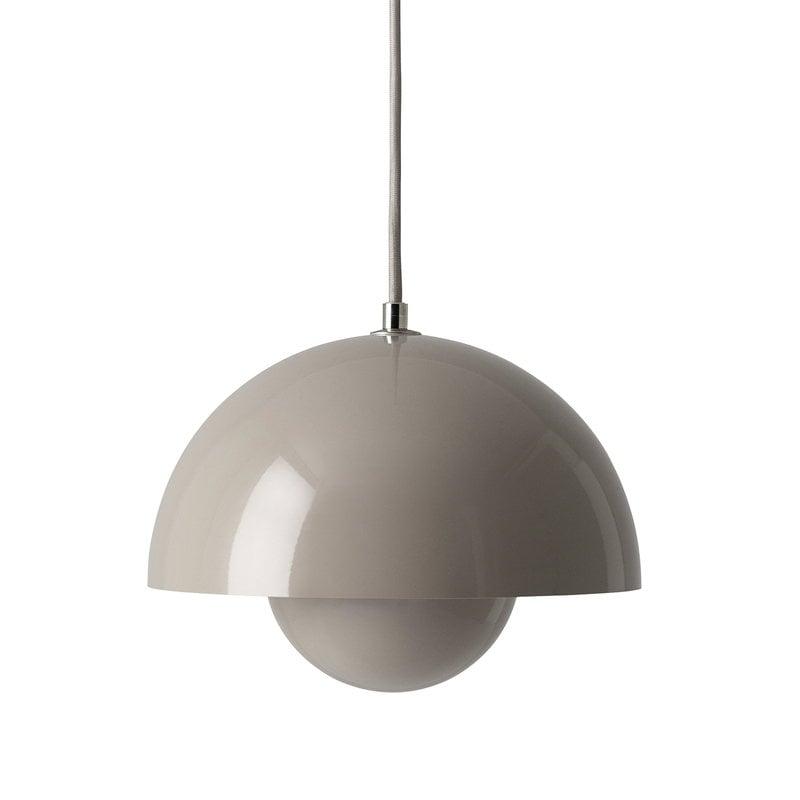 &Tradition Lampada Flowerpot VP1, beige grigio