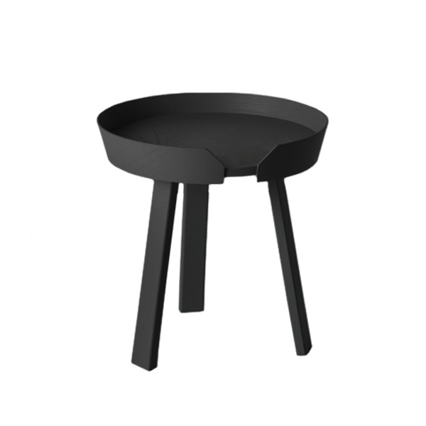 Muuto Around coffee table, small, black