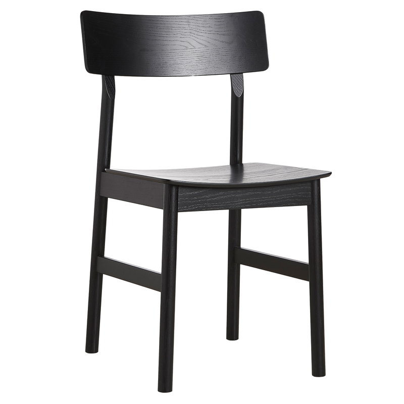 Woud Pause dining chair 2.0, black