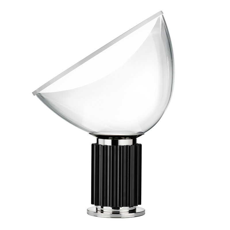 Flos Taccia table lamp, small, black
