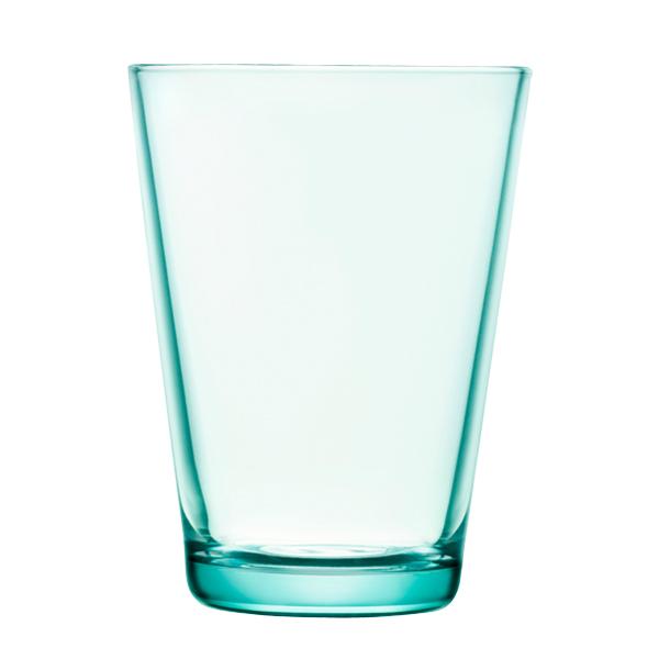 Iittala Kartio juomalasi 40 cl, vedenvihreä, 2 kpl