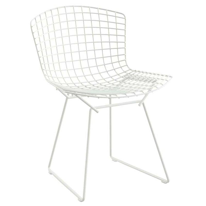 Knoll Bertoia tuoli, valkoinen