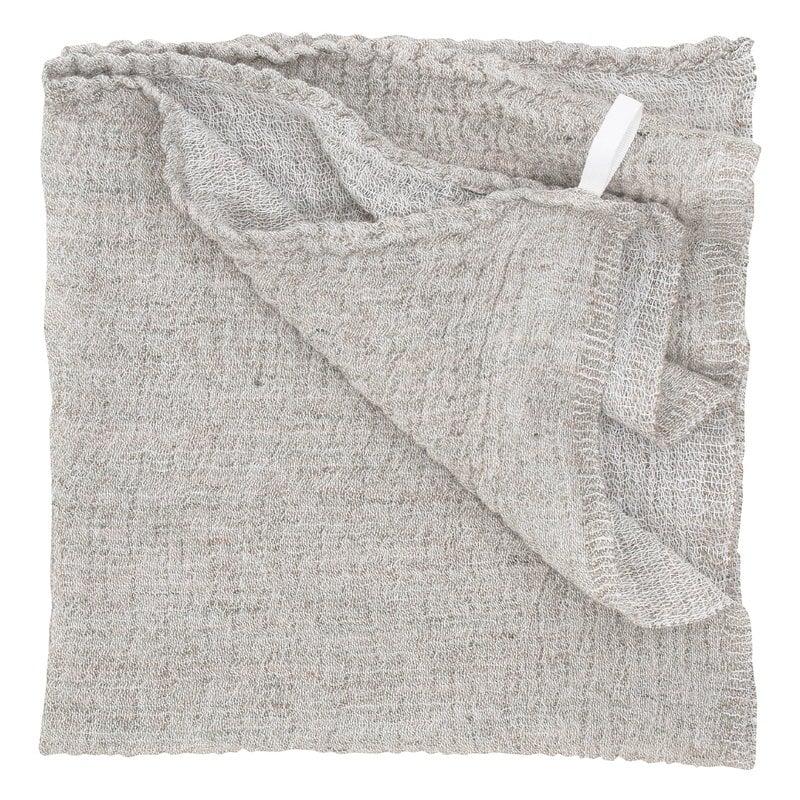 Lapuan Kankurit Nyytti giant towel, white - linen