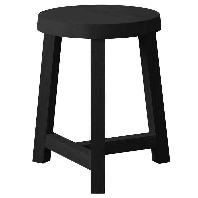 Lonna stool, black