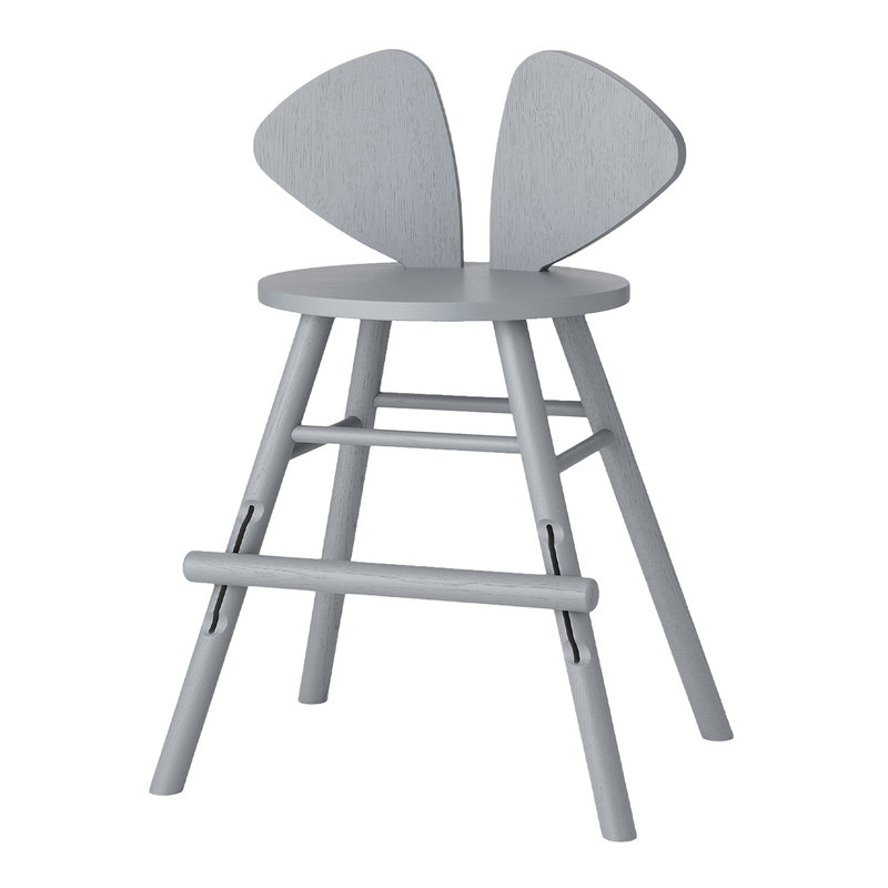 Nofred Mouse junior chair, grey