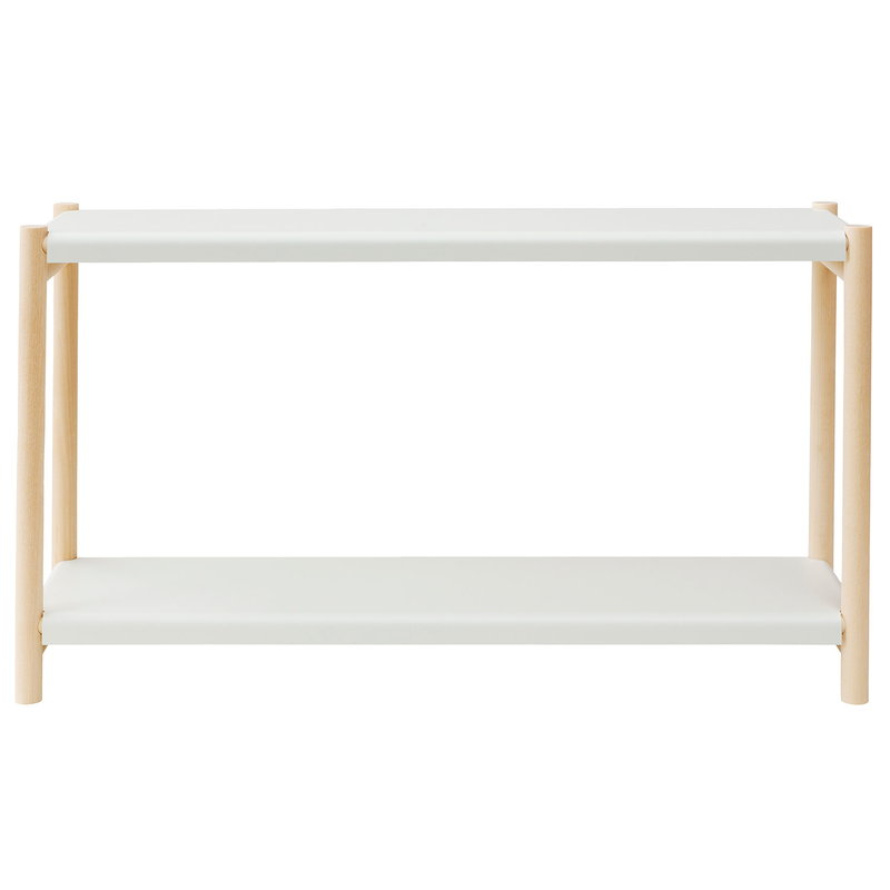 Verso Design Kamu table shelf, eggshell white