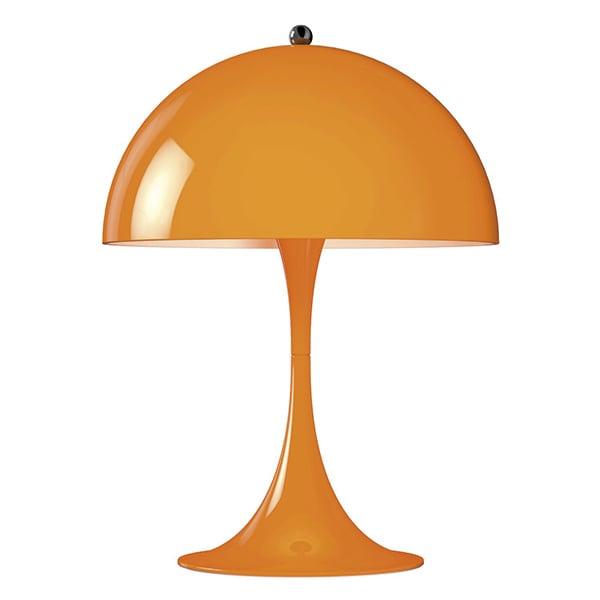 Louis Poulsen Panthella Mini pöytävalaisin, oranssi