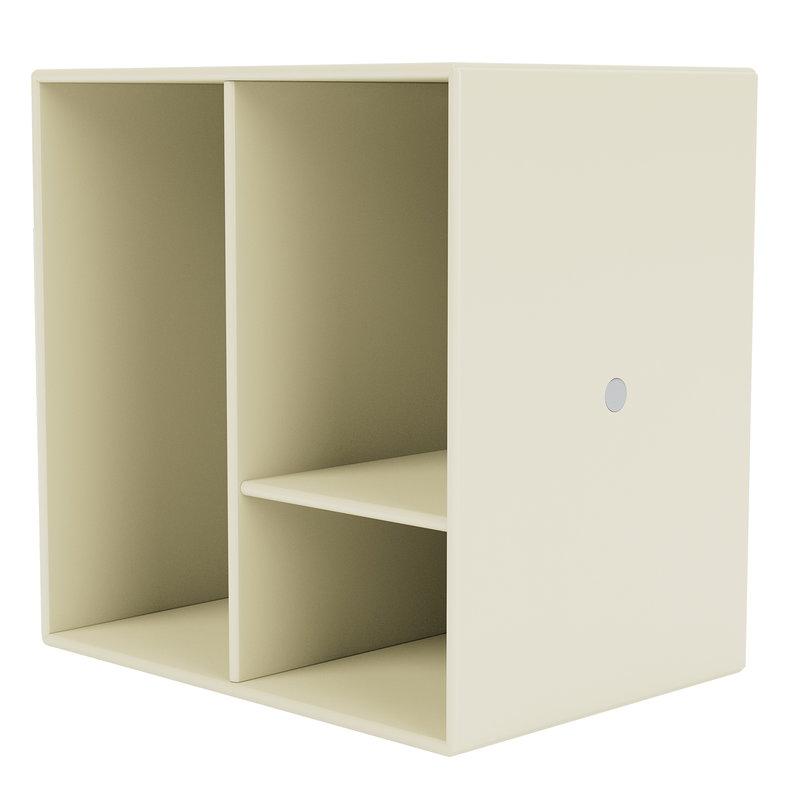 Montana Furniture Montana Mini moduuli hyllyillä, 150 Vanilla