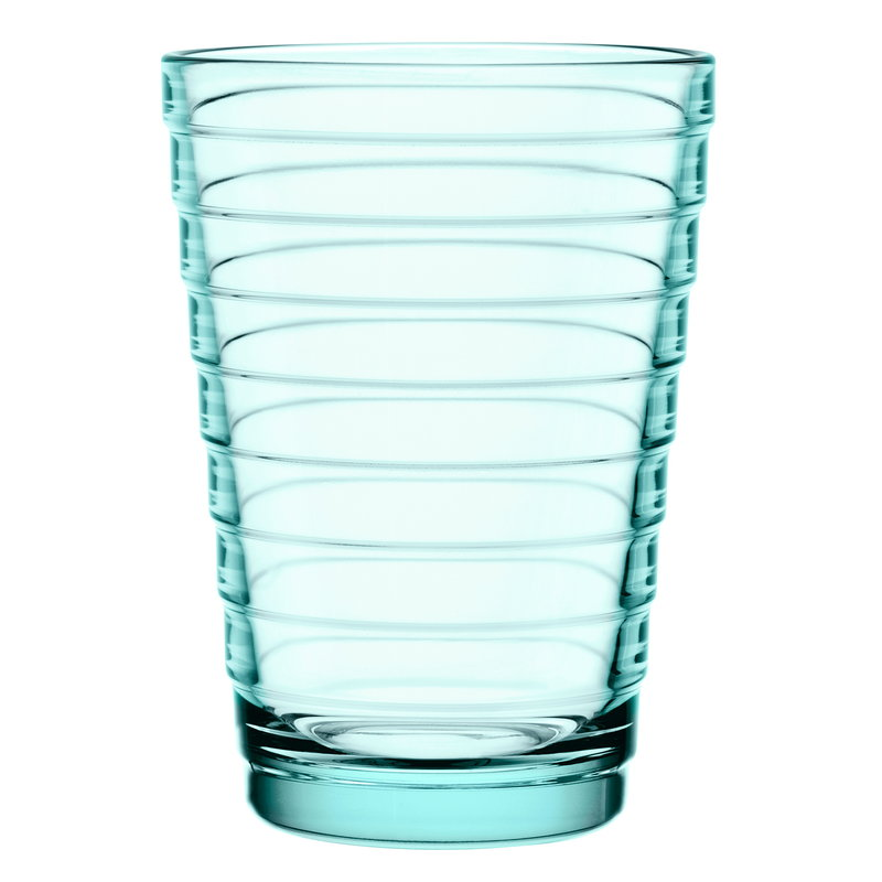 Iittala Bicchiere Aino Aalto 33 cl, verde acqua, 2 pz