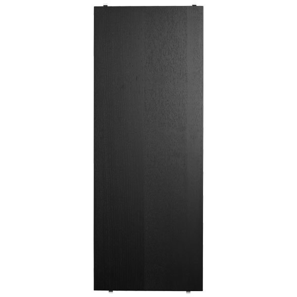 String String shelf 78 x 30 cm, 3-pack, black stained ash