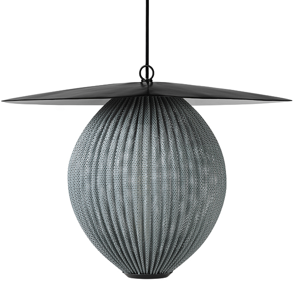 Gubi Satellite pendant, large, rainy grey