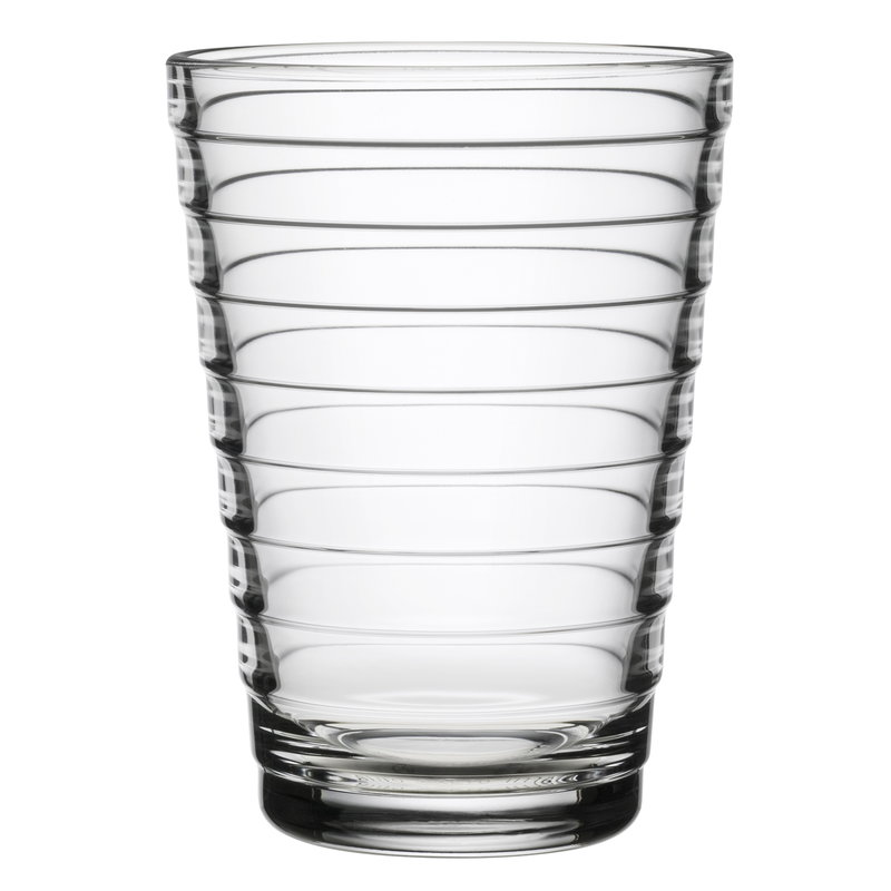 Iittala Aino Aalto tumbler 33 cl, clear, set of 2