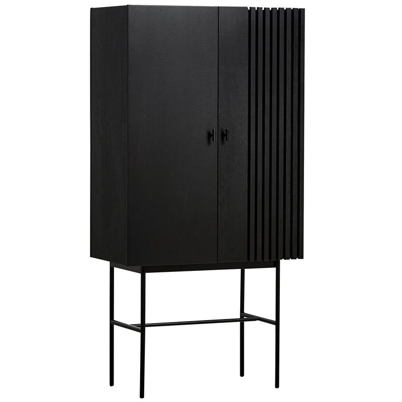 Woud Array highboard, black