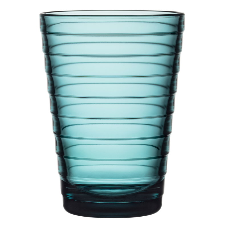 Iittala Aino Aalto tumbler 33 cl, sea blue, set of 2