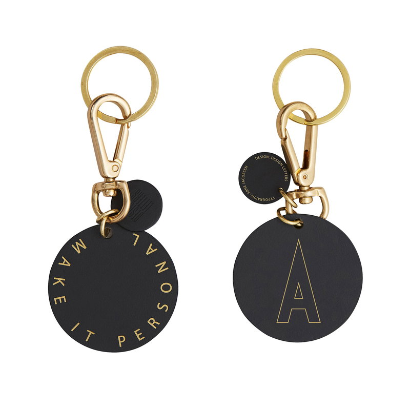 Design Letters Key ring A-Z
