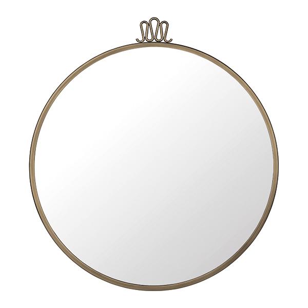 Gubi Specchio Randaccio Circular, 60 cm