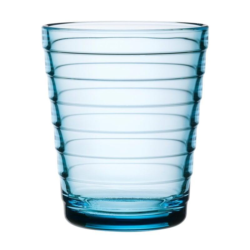 Iittala Aino Aalto juomalasi 22 cl, vaaleansininen, 2 kpl