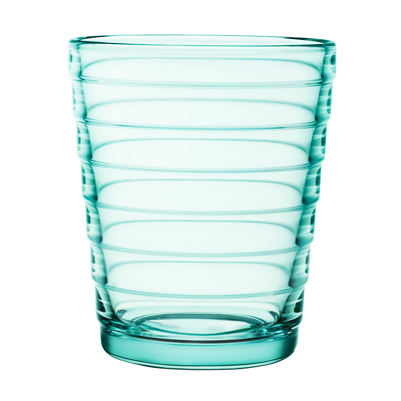Iittala Aino Aalto tumbler 22 cl, water green, set of 2