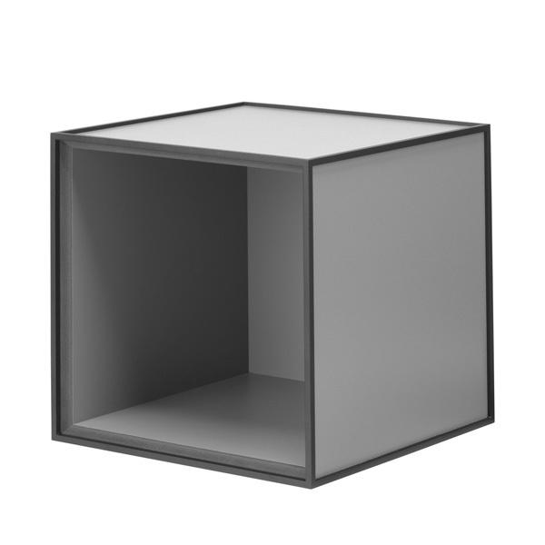 By Lassen Frame 28 laatikko, tummanharmaa