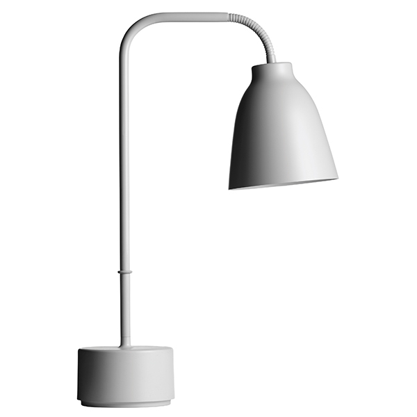 Fritz Hansen Caravaggio Read table lamp, light grey