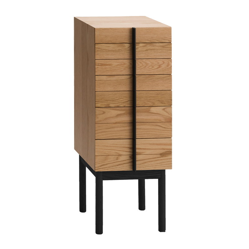 Ariake Column chest of drawers, oak