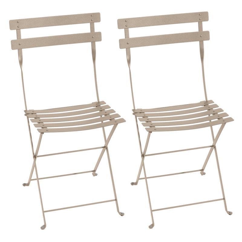 Fermob Bistro Metal chair, 2 pcs, nutmeg