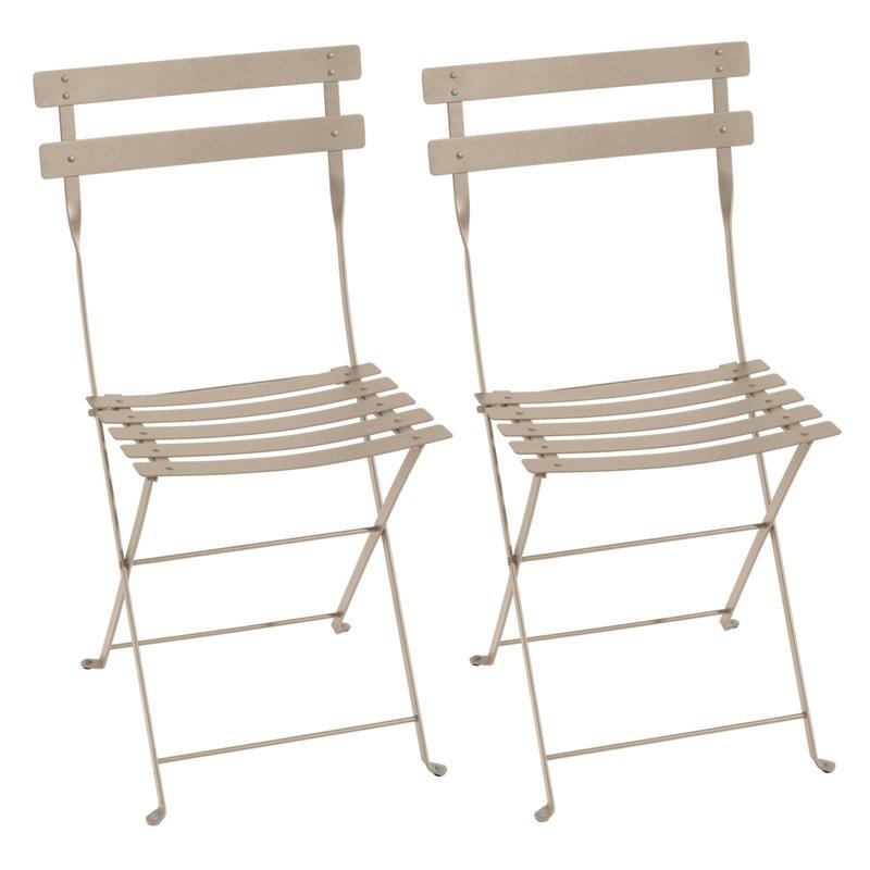 Fermob Bistro Metal tuoli, 2 kpl, nutmeg