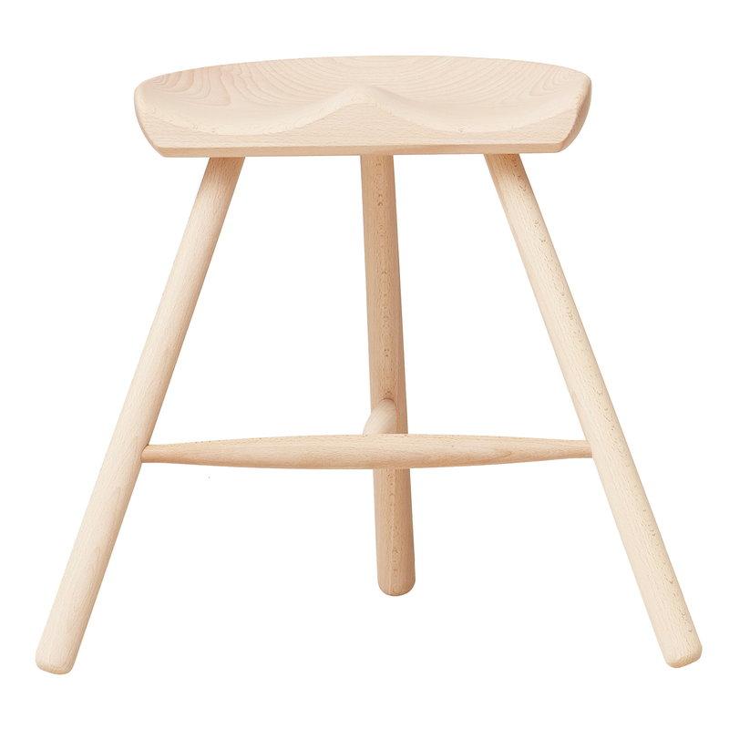 Form & Refine Shoemaker Chair No. 49 stool, beech